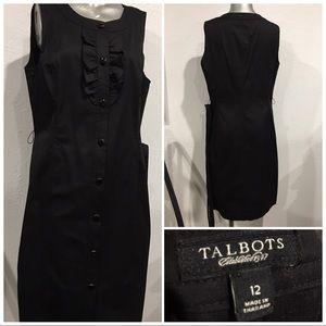 Talbots cotton classic dress
